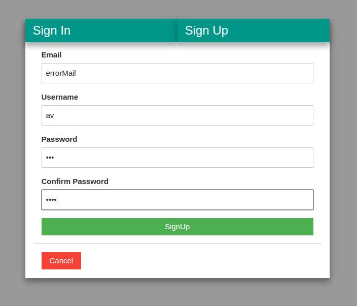 justLaravel - Custom Authentication with validation