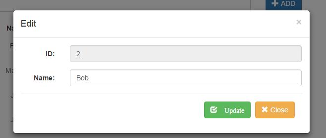 ajax CRUD operations in laravel - justlaravel.com