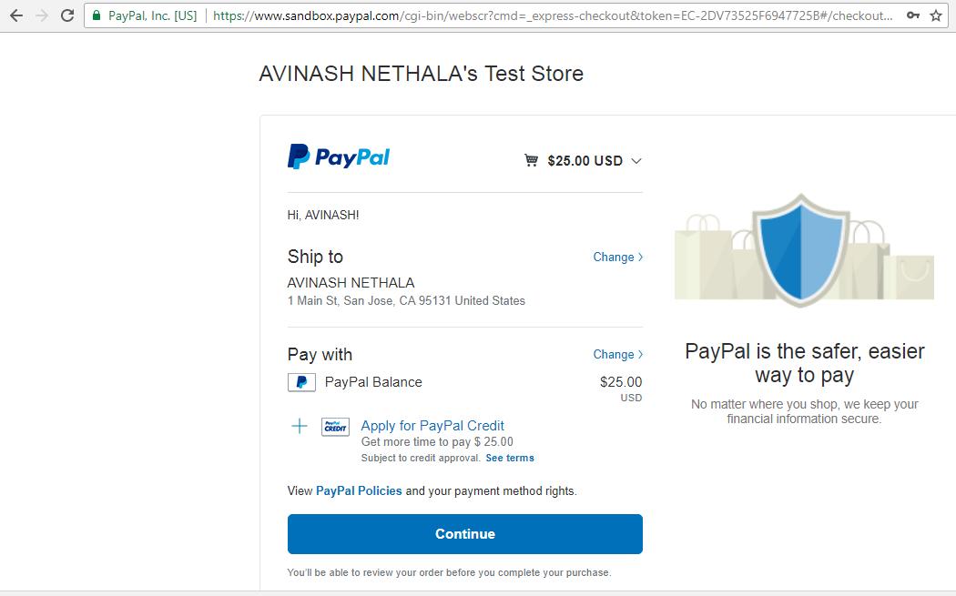 PayPal integration laravel - justlaravel.com